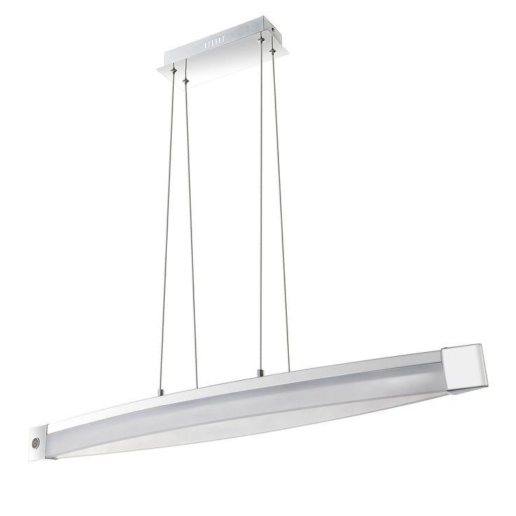 EEK A+, LED-Pendelleuchte Vannes - Metall / Acrylglas, Wofi Jetzt bestellen unter: https://moebel.ladendirekt.de/lampen/deckenleuchten/pendelleuchten/?uid=7db772ca-f278-5f5a-a488-a88ad6caea3d&utm_source=pinterest&utm_medium=pin&utm_campaign=boards #deckenleuchten #pendelleuchten #lampen #innenleuchten #wofi