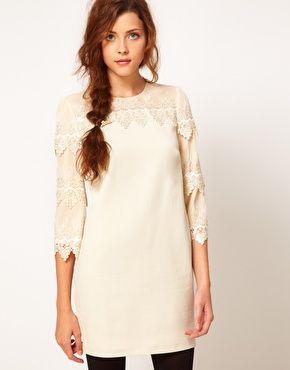 Lace Dress & Adorable Braid.