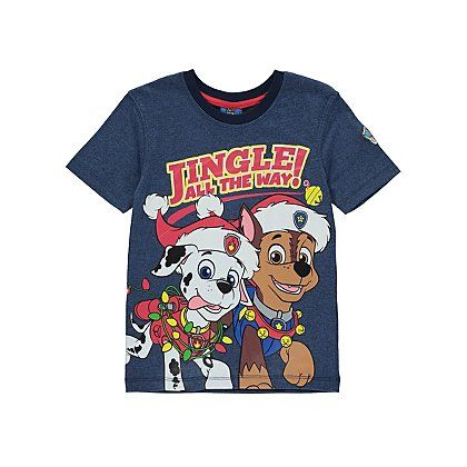 Paw Patrol Christmas T-Shirt | Kids | George at ASDA