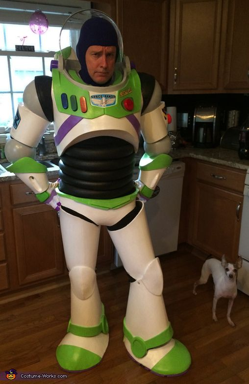 Vincent: This is a costume I constructed for visiting children in the hospital along with other Disney characters. It is made from EVA foam mats that were heated, shaped, glued and...