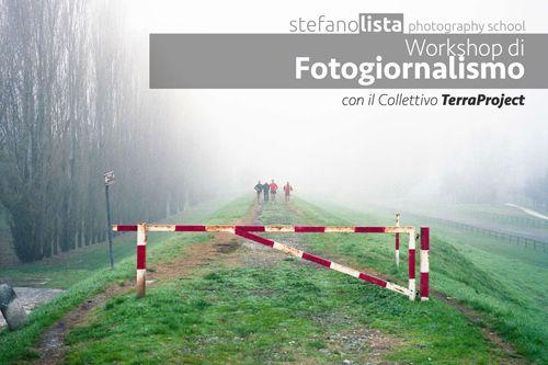 Workshop di fotogiornalismo con il Collettivo Terraproject l1 e 2 ottobre