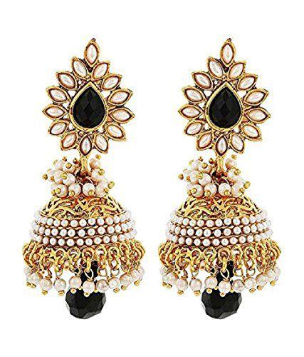 Indian Bollywood Beautiful Pearls Polki Stylish Fancy Bla... https://www.amazon.com/dp/B01L5BDI4M/ref=cm_sw_r_pi_dp_x_snYHyb9WTK3Q5
