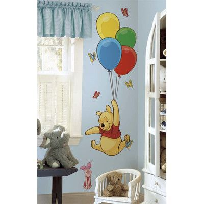 Room Mates Pooh and Piglet Wall Decal