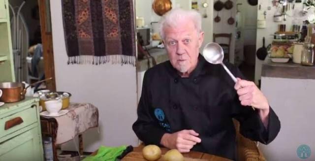 Heerlike biltong-en-kaas-aartappels. Kyk hier hoe maak Lochner dit!