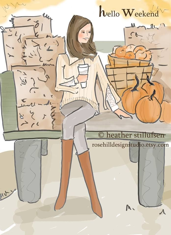 Rose Hill Designs by Heather Stillufsen  ·  Hello Weekend - xx (When the rain ends for those on the East Coast )