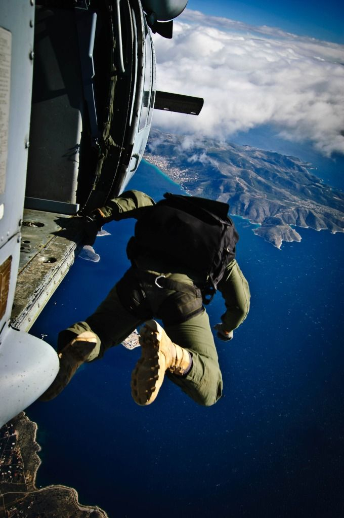 Skydiving ~ Parachuting, or skydiving
