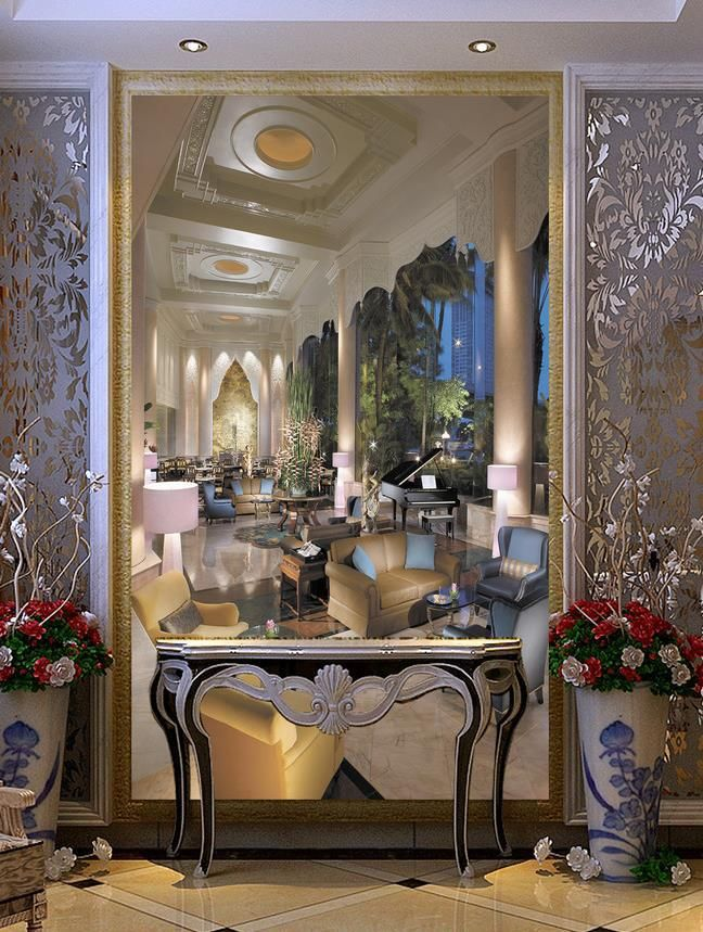 Barato 3D papel de parede, Entrada de 3D para Tv sofá parede decoração de casamento, Papel de parede floral, Compro Qualidade Wallpapers diretamente de fornecedores da China: