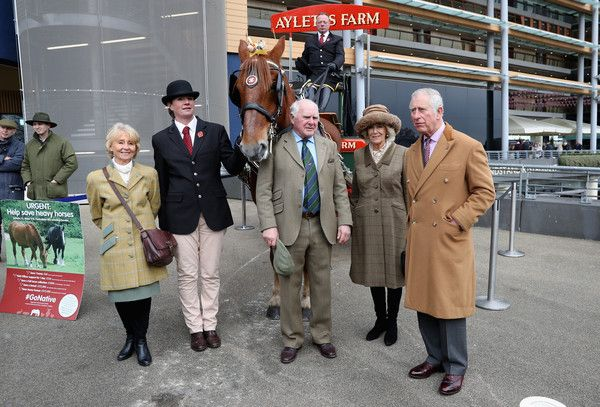 Camilla Parker Bowles Photos - Prince Charles, Prince of Wales (R) and Camilla, Duchess of Cornwall (2ndR) and guest attend the Prince's Countryside Fund Raceday at Ascot Racecourse on November 24, 2017 in Ascot, England. - The Prince Of Wales And Duchess Of Cornwall Attend The Prince's Countryside Fund Raceday