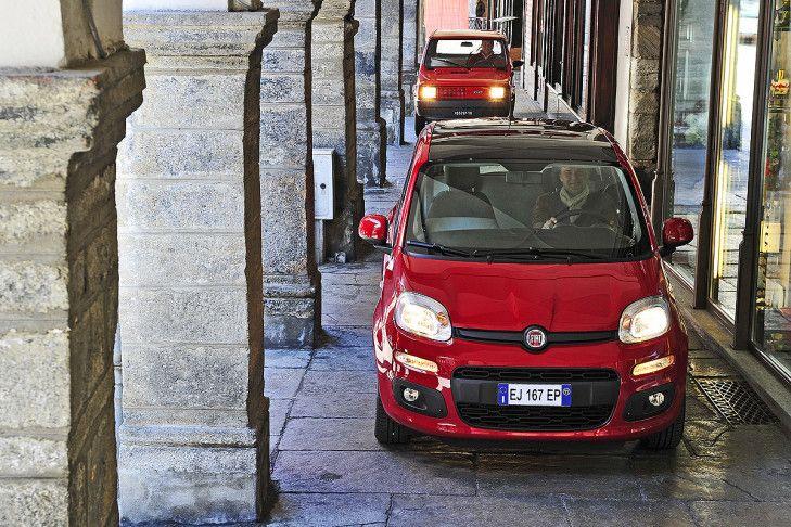 Bilder: Zwei Generationen Fiat Panda - Bilder - autobild.de