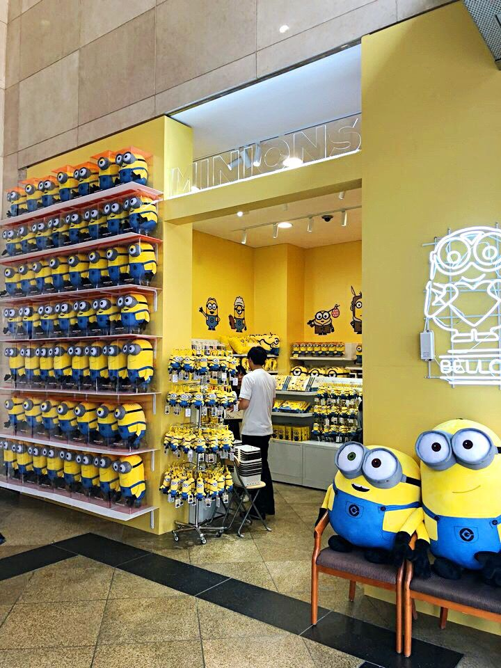 The Minions Store in Seoul's Myeong Dong | Korea Travel List in 2019