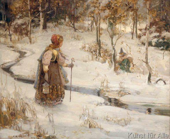 Thomas Bromley Blacklock - In the Fairies Wood