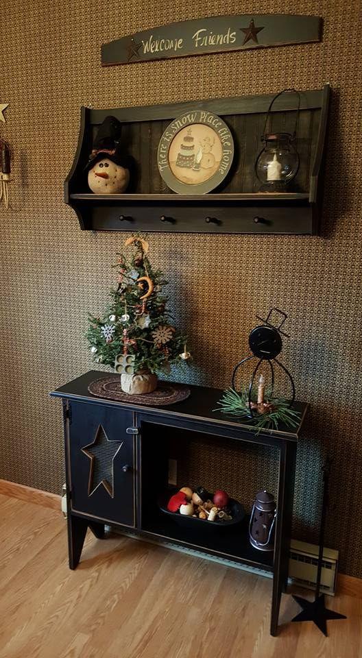 Denise S Home Primitive Homescountry Primitiveprimitive Decorprimitive Furnitureshelf Ideasprim