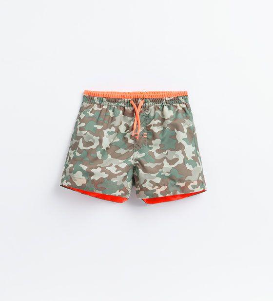 Shorts i kamouflage