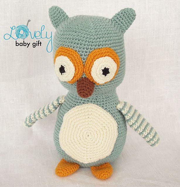 108 best Owls Crochet images on Pinterest | Búhos de ganchillo ...