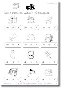 Phonics worksheets and online phonics games | free phonics worksheets for kindergarten, 1st grade, 2nd grade, and workbooks from Fun Fonix