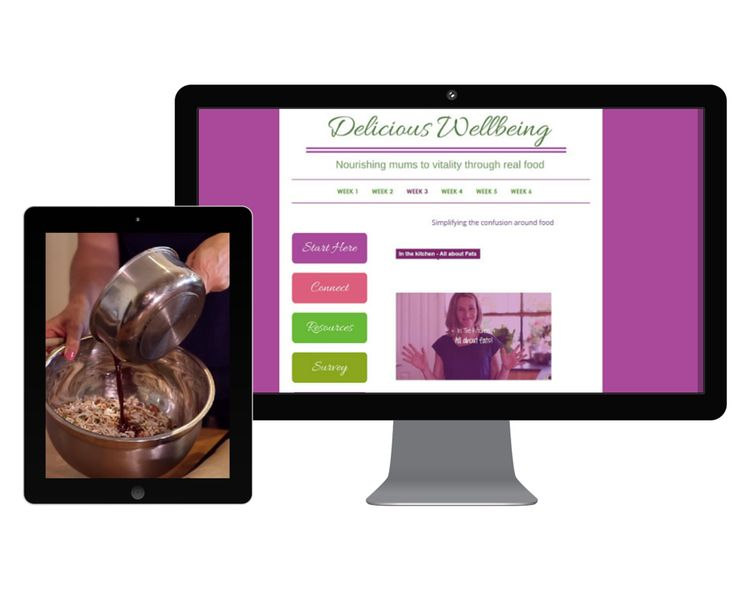 A sneak peak at Delicious Wellbeing — Nourishing Mums to Vitality Through Real Food