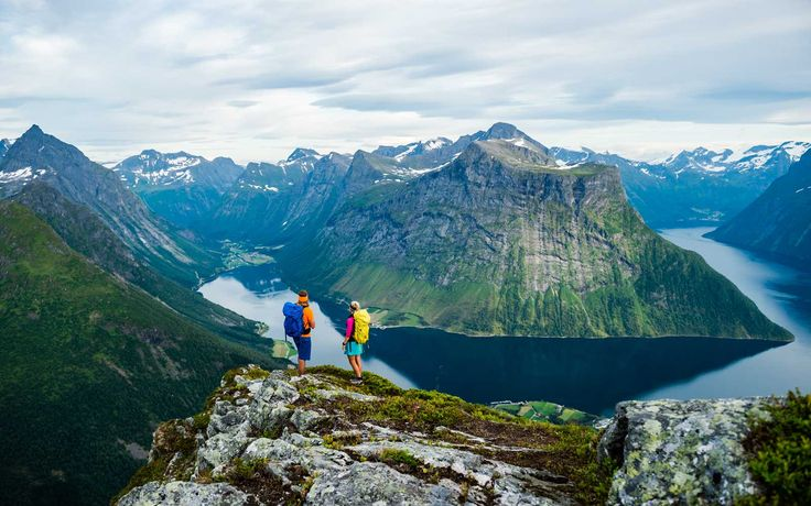 The Small Norwegian Town That's the Perfect Gateway to the Scandinavian Outdoors
