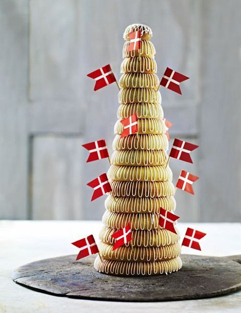 Mette Blomsterbergs opskrift på kransekagetop - Winelab.dk
