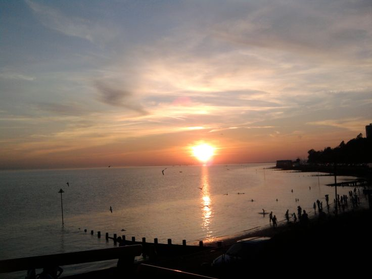 Took this ages ago but sunset and Southend