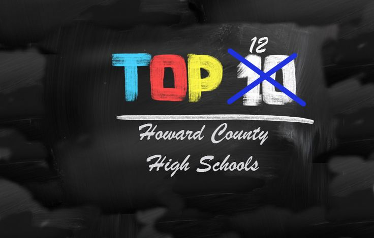 Here are the Top 12 High Schools for Homebuyers in Howard County Maryland.  Includes Ellicott City, Columbia etc.