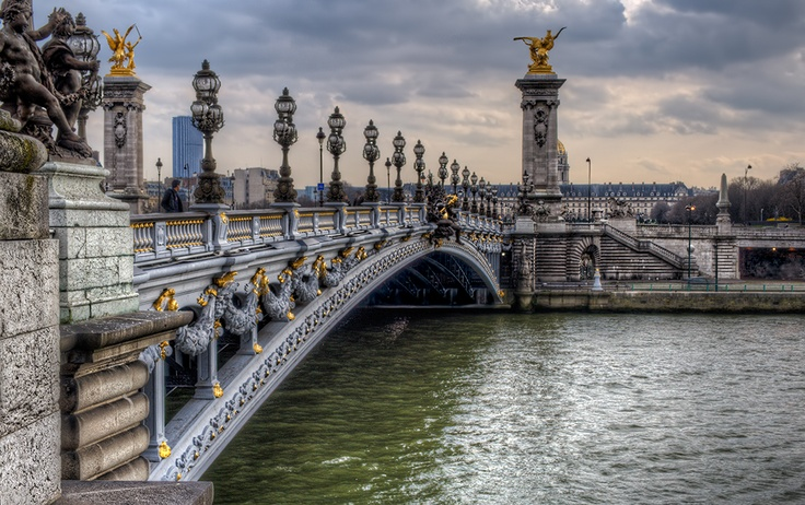 Pont Alexandre III by Marc Collins