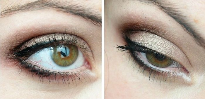 Eye make up smoky