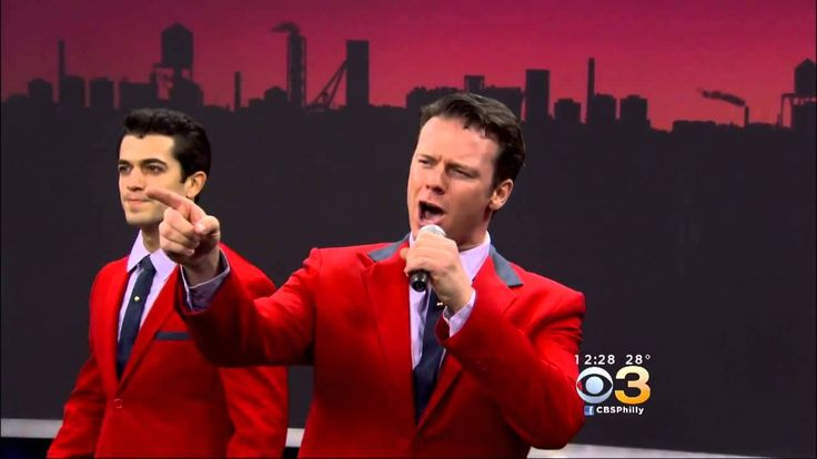 Jersey Boys on CBS3 NYE Special - And NICOLAS DROMARD, Oh My GOD HE IS TOMMY DEVITO and Adam Zelasko IS NICK MASSI.  PLEASE, let the powers that be put these four men (Shaun, Quinn, Nicolas, and Adam) together on Broadway.
