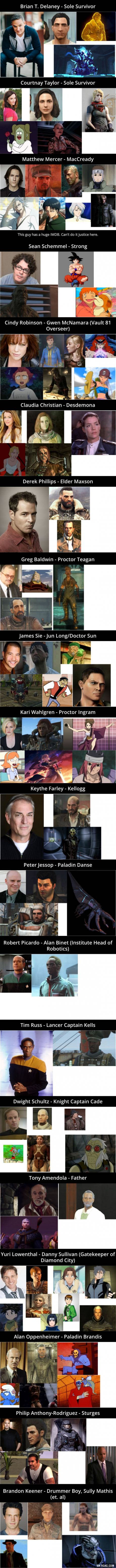 Holy crap, I know so many of the other people they voiced!! I thought I recognised their voices! It had reached the point when I watch anime and okay games where i go, 'Oh I know them'