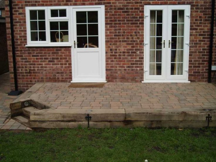 Railway Sleepers with ironmongery