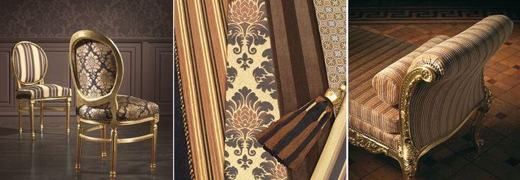 In de Victoriaanse tijd stonden ontwikkelingen in kunst en interieur in het teken van materiële welvaart. Kenmerkend zijn de expressieve elegantie in kleur- en designtoepassing, met een maximum aan comfort en weelderig materiaalgebruik.  De collectie biedt een grote variëteit aan eigentijds klassieke interieurstoffen, uit jacquard weef- en veloursstoffen, damast van 100 procent Egyptische katoen en Indiase zijde.