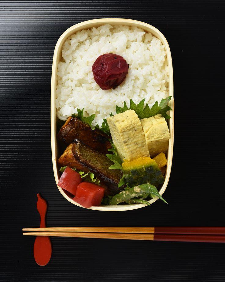 ブリの照り焼き弁当 / Teriyaki Yellowtail Bento #edit_jp