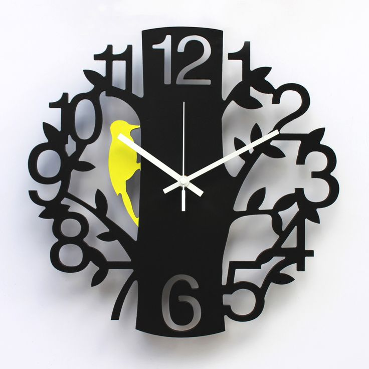 >> Click to Buy << Art wall clock quieten fashion watches and clocks 14 digital pocket watch woodpecker clock quartz clock #Affiliate
