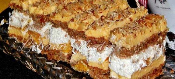 Fine šnite s orasima i kremom od naranče | Ljiljana Nieder
