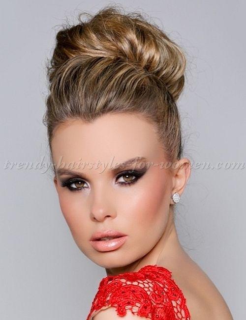 high+bun+hairstyles+-+high+bun+hairdo