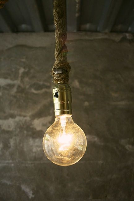 items similar to hanging lamp chandelier lighting hanging light rustic decor shabby chic industrial light rustic rope design on etsy