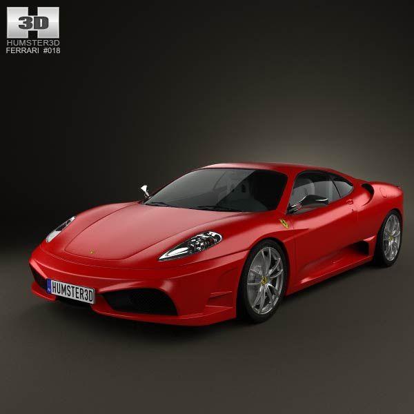 Cenário 3d Ferrari F430 Modelo 3d: 64 Best Ferrari 3D Models Images On Pinterest