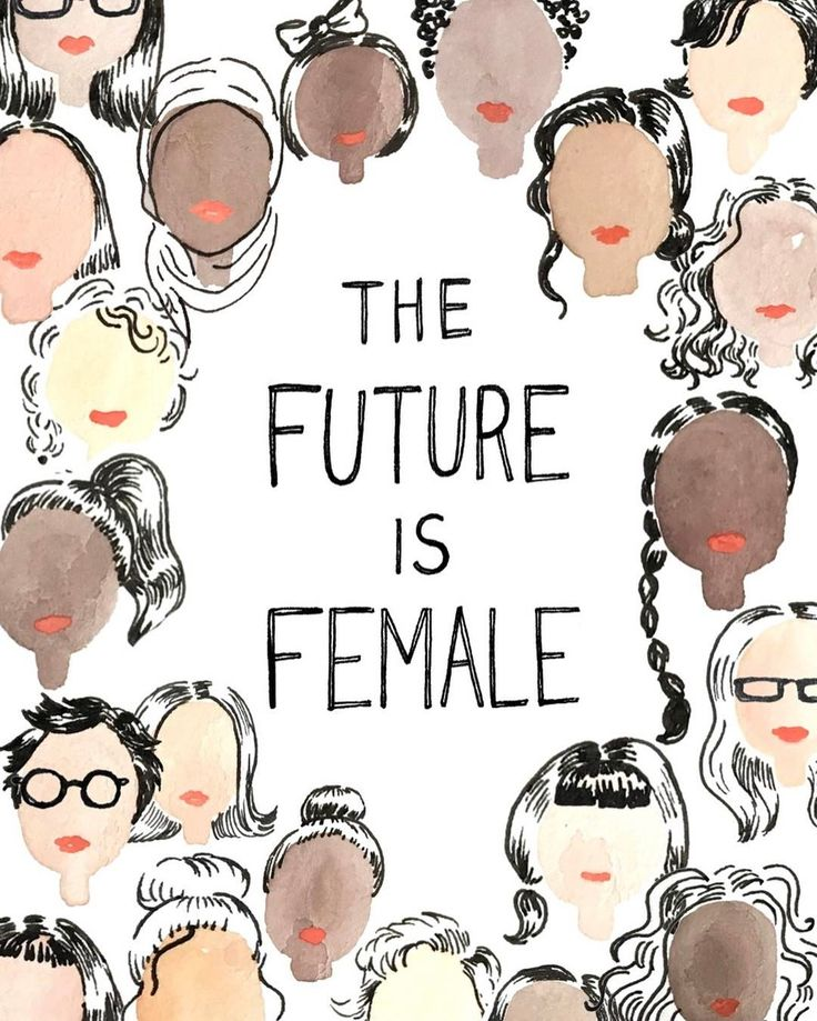 THE FUTURE IS FEMALE (Instagram photo by @womenmarch)