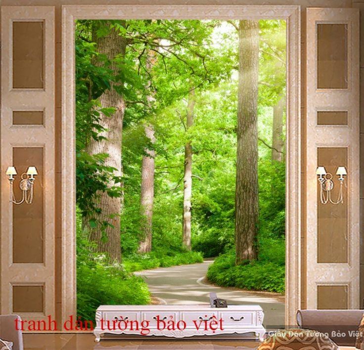 Tranh dán tường đẹp Tr134 | Tranh dán tường Bảo Việt