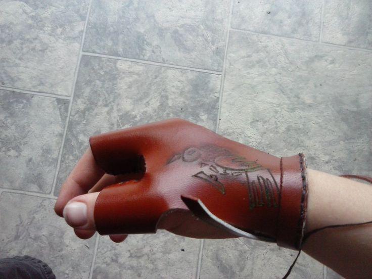 Bow hand archery glove by sioastr-valdr
