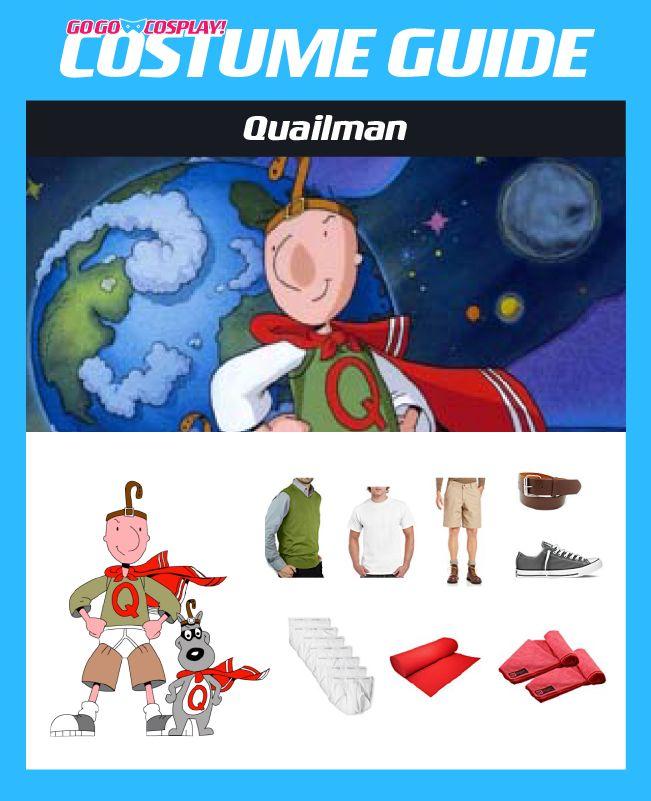 Make Your Own Quailman Costume