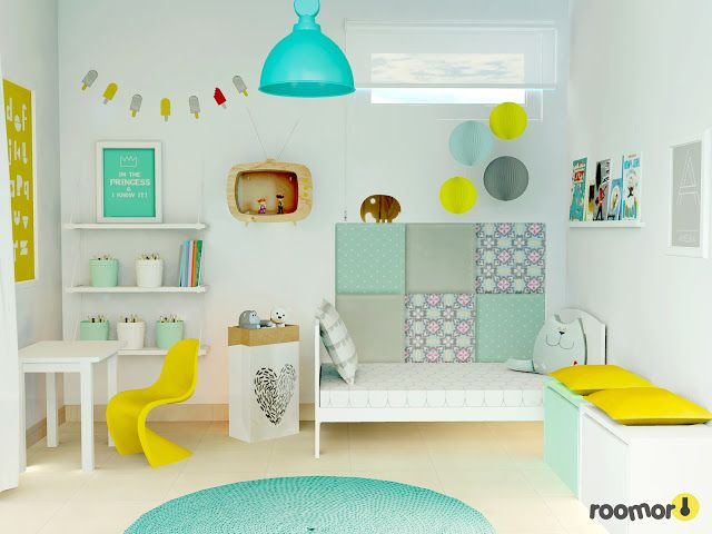 roomor!:kids room project, roomor!: Before and after kids room, kids space, girl room, kiddo,