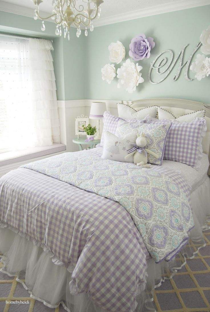 Home by Heidi  Purple   Turquoise Little Girls Room Absolutely love this. 236 best Home By Heidi images on Pinterest   Little girl rooms
