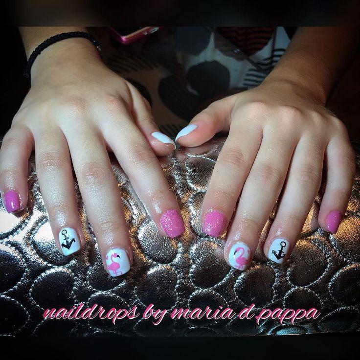 #manicure #flamingonails #despacito