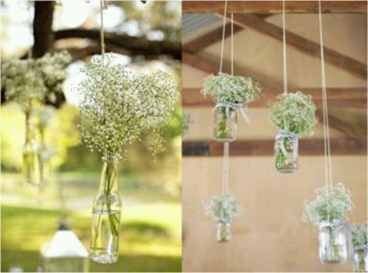decoracion para bodas con paniculatas