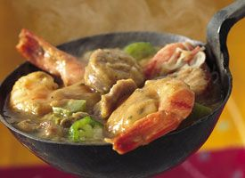 """New Orleans """"Best"""" Gumbo  From Betty's Soul Food Collection... Soul food takes on a spicy accent in gumbo packed with flavor, spice and plenty of shrimp and oysters."""