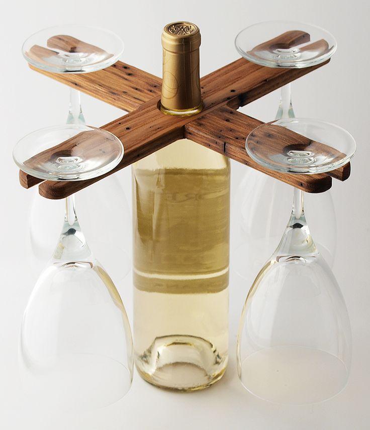 Product Farm Store - VinoCaddy | 4 | Chestnut, $19.99 (http://store.theproductfarm.com/vinocaddy-4-chestnut/)