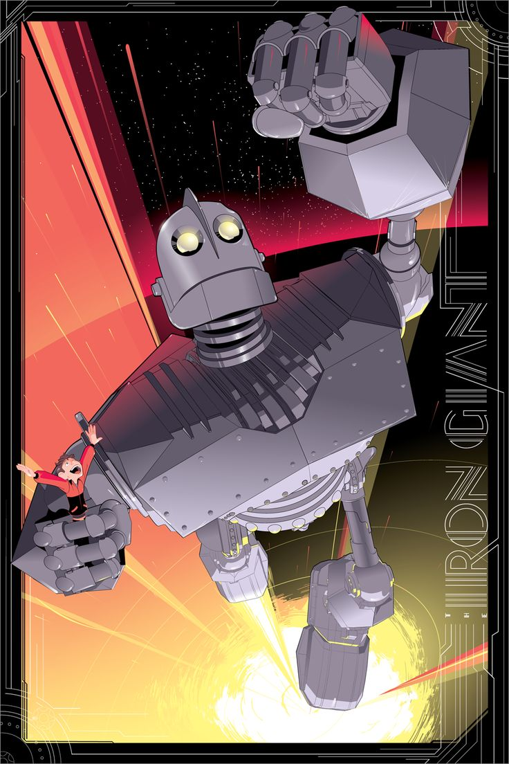 Cool Art: The Iron Giant by Craig Drake | Live for Films