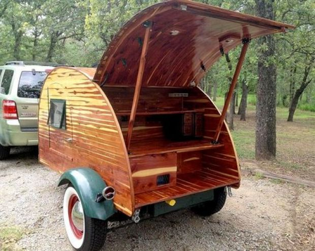 We at RVShare have talked about our fondness for teardrop trailers before, and a recent article in 50 campfires has only rekindled our love of these tiny trailers. Their list of 10 unique teardrop trailers is chock-full of trailers that recall simpler times and invite those of us with wanderlust to explore the world beyond [Continue Reading]