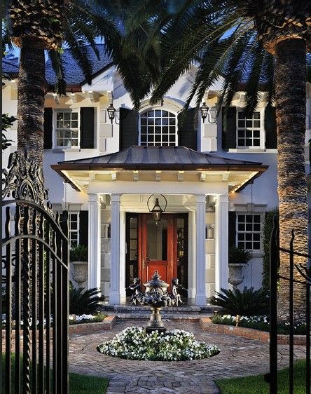 French Quarter feel in Miami. Tuthill Architecture.