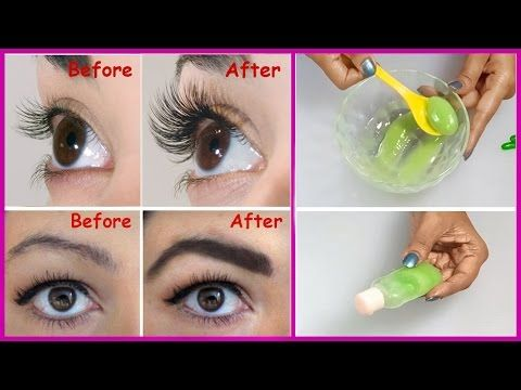 How To Grow Long, Thick Eyelashes & Eyebrows In Just 3 Days | Eyelash And Eyebrow serum(VIDEO)
